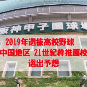 中国地区21世紀枠