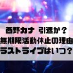 西野カナ引退