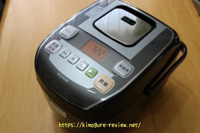 アイリスオーヤマ炊飯器RC-PA50-B