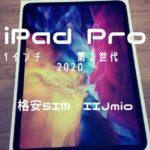 iPadPro11インチ 格安SIM
